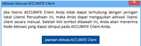 Aktivasi Manual ACCURATE License Manager 3